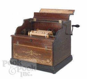 Celestina Organ Grinder Music Box With Thirteen P