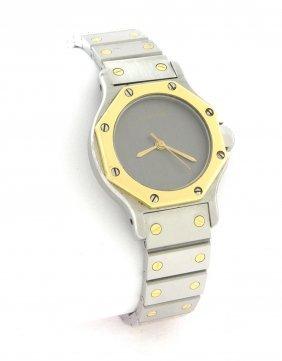 Cartier Santos Octagon Automatic 18k Steel Watch