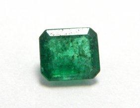 0.30ct Natural Colombian Green Emerald Emerald Cut