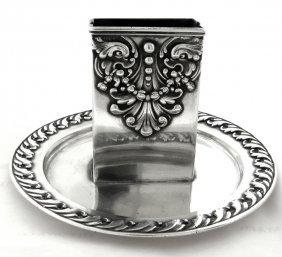 Vintage Tiffany & Co. Sterling Silver Matchbox Holder