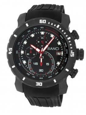 Roberto Bianci Sport Black Plated Men's Chrono Watch