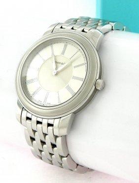 Tiffany & Co. Stainless Steel Mens Resonator Watch