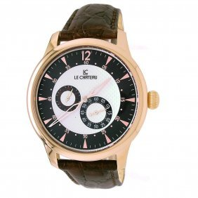 Le Chateau Men's Automatic Rose Gold Plated Watch