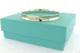 Tiffany & Co. Sterling Silver 1837 Bangle Bracelet