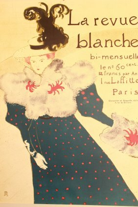 La Revue Blanche By Henri Toulouse-lautrec