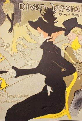 Divan Japonais By Henri Toulouse-lautrec