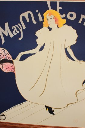 May Milton By Henri Toulouse-lautrec