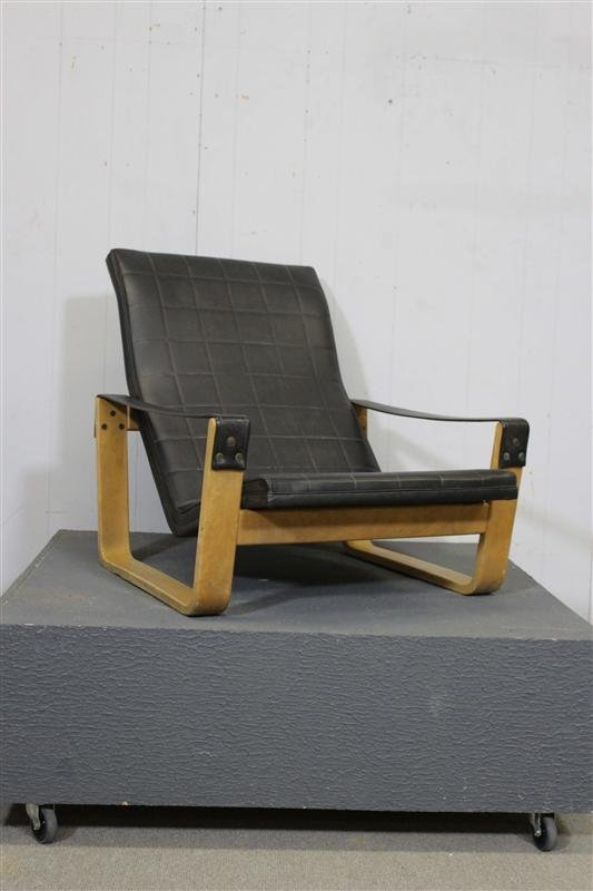 Alvar aalto style lounge chair lot 83 for Alvar aalto chaise lounge