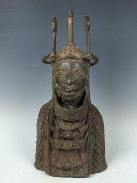Benin Warrior Bust