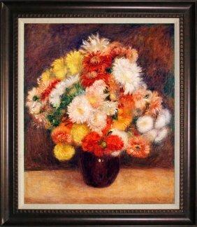 After Pierre Auguste Renoir Bouquet Of Chrysanthemums