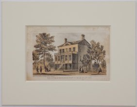 Old Cottage Residence, 16th & 3rd, Manhattan 1861