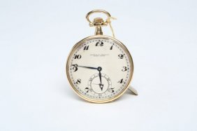 1930s 18k Gold Vacheron & Constantin Pocket Watch