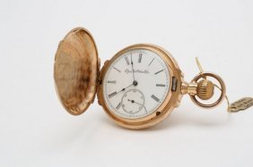 Early 1900s Tri Colored Gold Elgin Pocket Watch