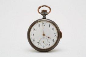 1920s Gun Metal Quarter Hour Repeater Pocket Watch