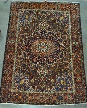 Rare Colors/design Tightly Woven Semi Antique Bahktiari
