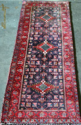 Hand Woven Fine Quality Persian Malayer Runner