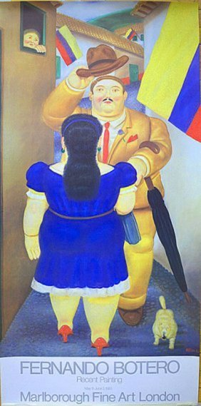 Fernando Botero, Colombian (1932 -) Recent Painting19