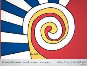 Homage To Calder Jerusalem