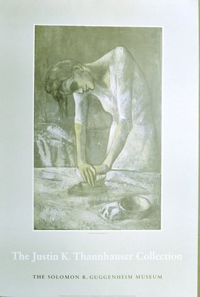 Picasso, Woman Ironing, Vintage 1978