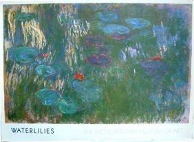 Claude Monet Water Lilies - Show In Copenhagen 1979 -