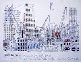 Ben Shahan 1898 - 1969 A Retrospective Jewish Museum Ny