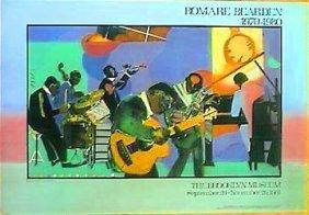 Romar Bearden Jazz At The Savoy Vintage Poster 1981