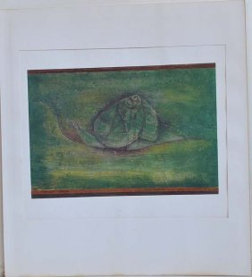 "Klee ""schnecke""original Litho Printed By Mourlot"