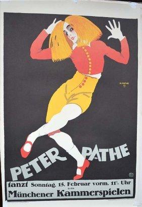 Peter Pathe - Munchener Kammerspielen
