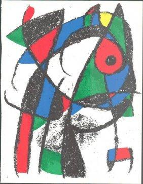 Miro Original Lithograph From Book Ii Plate I