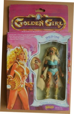 "For Sale Is One Golden Girl Wild One 6"" Action Figure"