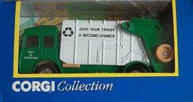 Corgi Garbage Truck