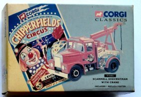 Corgi Scammell Highway Man With Crane