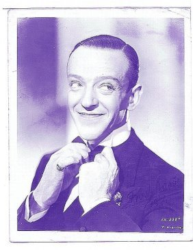 Fred Astaire - 8 X 10 Photo W/ Certificate