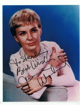 Joanne Woodward - 8x10 Photo W/ Certificate