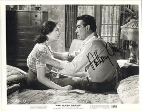 Anthony Quinn - 8x10 Photo W/ Certificate #3