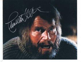 Charlton Heston - 8 X 10 Photo W/ Certificate #2