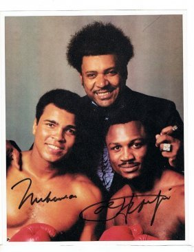 Ali/ Frazier/ King - 8 X 10 Photo W/ Certificate