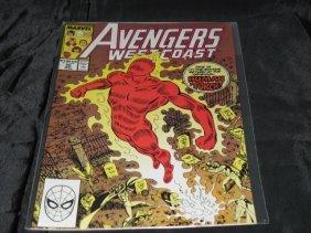 The West Coast Avengers #50