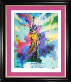 Leroy Neiman Hand Signed Lithograph