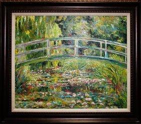 Claude Monet Japanese Bridge Limited Edition