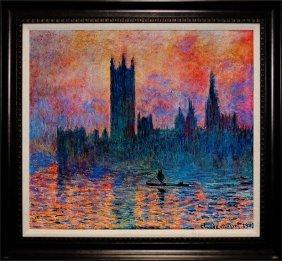 Claude Monet Limited Edition Parliament Buildings
