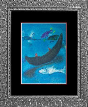 Marc Chagall Hand Signed Original Lithograph