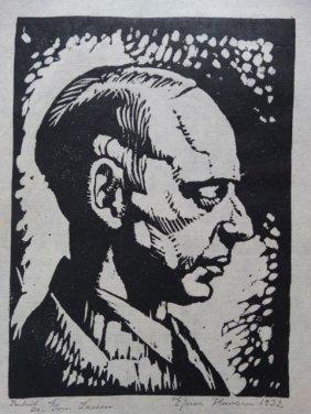 Ejnar Hansen: Profile Of Man, P1024