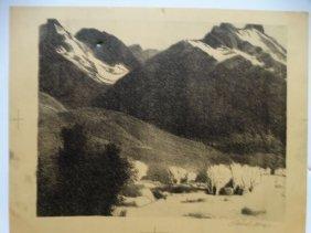 Conrad Buff Western Landscape Bw005
