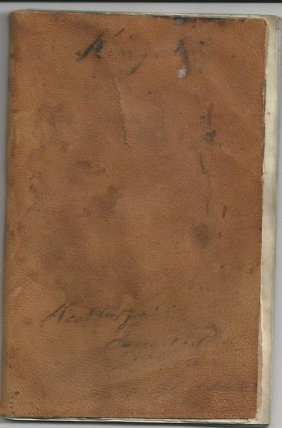 1865 Kingston, Nh Journal Of Tax Invoices For