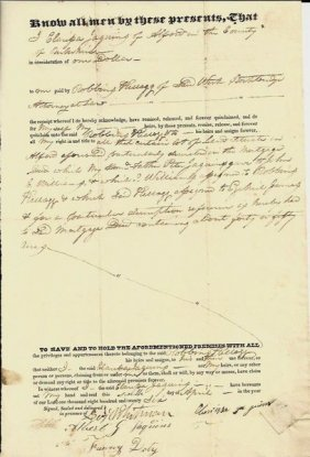 Five Early Ma Deeds: Politicians, Abolitionist's Son