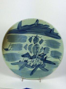Celadon Blue Plate