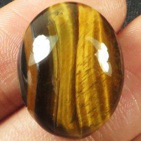 Natural African Tigereye Gemstone 25.74 Carats