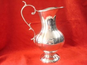 Sanborns Mexican Sterling Water Pitcher