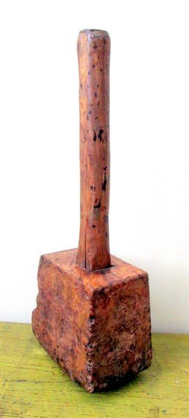 Early Burl Maple Mallet